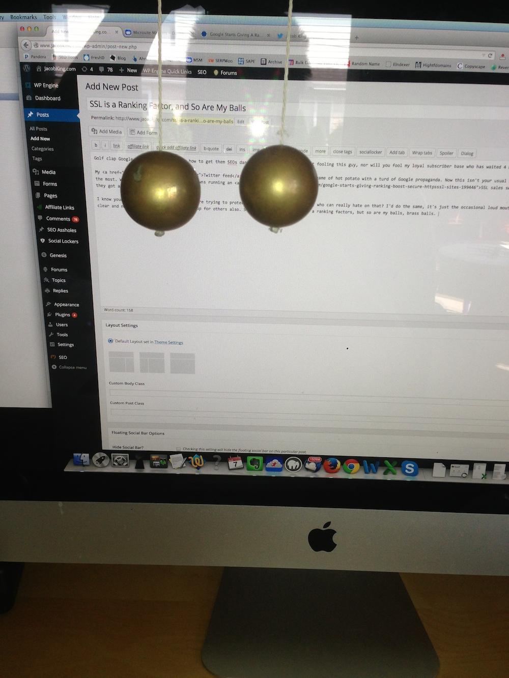 brass balls ssl
