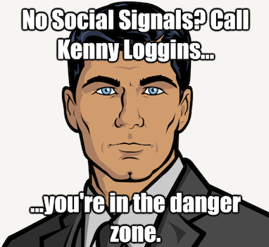 Sterling Archer on Social Signals