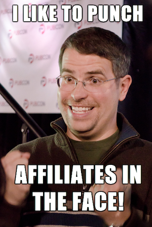 matt cutts affiliate punch meme